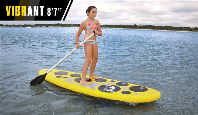 Inflatable Stand Up Paddle Board SUP w/accessories VIBRANT Standup Paddleboard(China (Mainland))