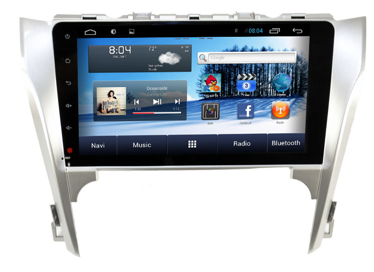 Super 10.1 inch capacitive touch screen Car GPS for Toyota Camry 2012-14 with Pure android 4.2.2 GPS WIFI 3G auto radio No Disc(China (Mainland))