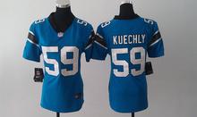 2017 Women Ladies Carolina Panthers,1 Cam Newton 59 Luke Kuechly #24 Norman,#88 Olsen 100% stitched logo(China (Mainland))