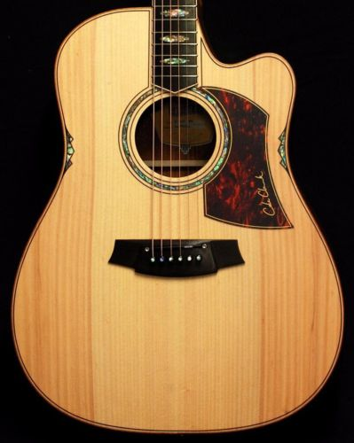 New! Cole Clark FL3EC-BB Bunya Top Blackwood Acoustic Electric Guitar w/ HSC(China (Mainland))