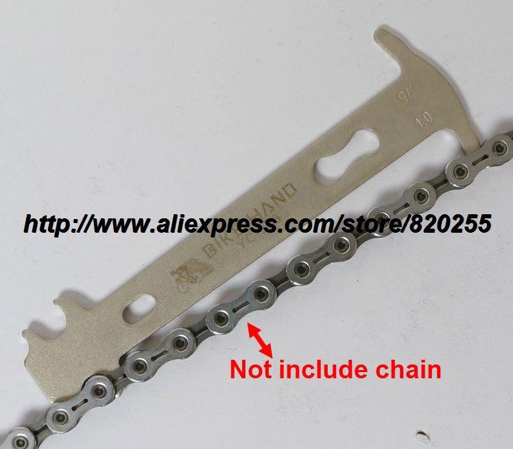 1pc Bicycle chain wear indicator 7-10 speed chains bicycle tools chrome vanadium bike riding for KMC tool chain checker tool(China (Mainland))