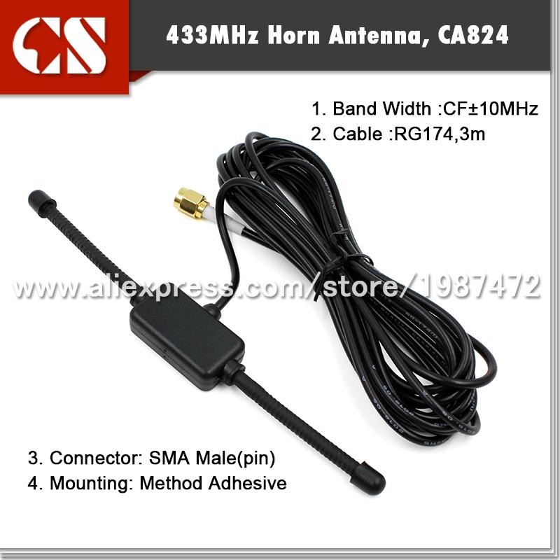 433 mhz patch antenna