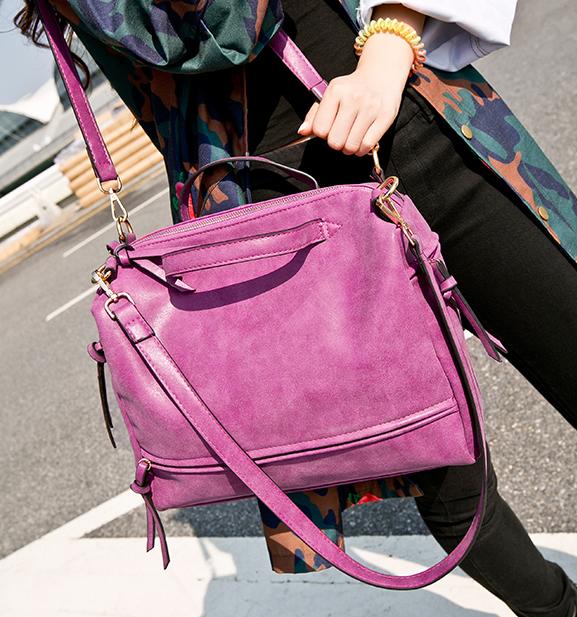 free shipping !!!!!  Large Womens Frosted Handbag Vintage Women Messenger Bag Moto Bag Fashion Shoulder Bag Lady Must-Have Bag<br><br>Aliexpress