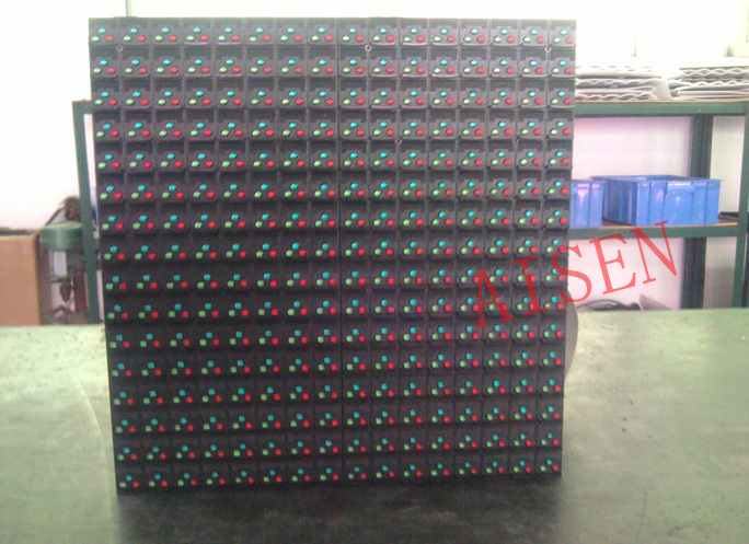P16 led display outdoor high quality size:256*256mm full color p16 led display module p16 outdoor led screen dhl-free shipping(China (Mainland))