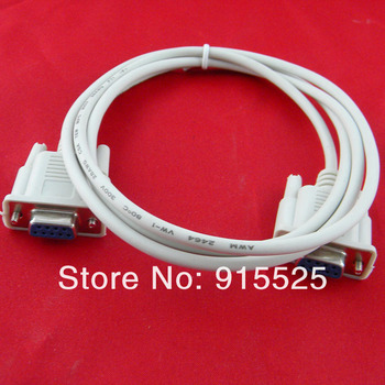 free shipping DB9 Cable, RS232 serial Cable,db9 female to female cable 1.2m 2pcs/lot #6758