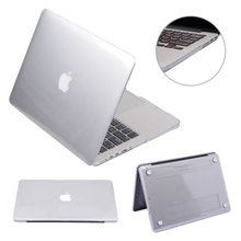 "Hot Sale Glossy Crystal Hard Case Cover for MacBook Air 11/13"" Pro Retina 13/15"" New 12"" Free Shipping(China (Mainland))"