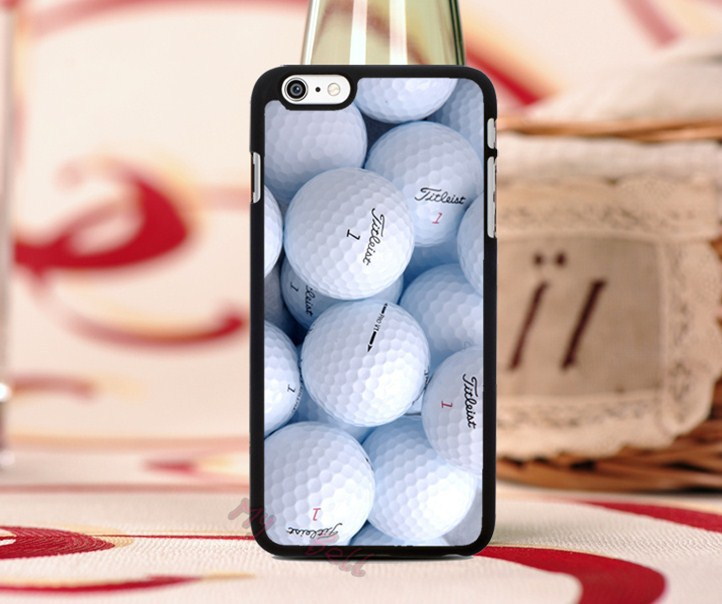 3d pallina of golf hard skin mobile phone bags cover cases for iphone6 6plus 4s 5c 5s cases with free gifts free shipping(China (Mainland))