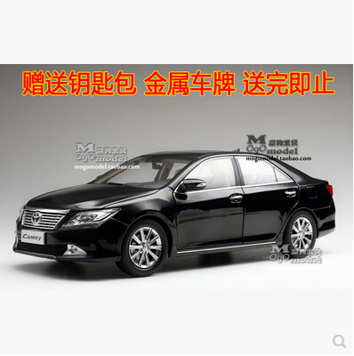 Hot sale CAMRY 2012 Toyota 1:18 Original simulation alloy car model Seventh Generation Japan Collection gift boy kids toy(China (Mainland))