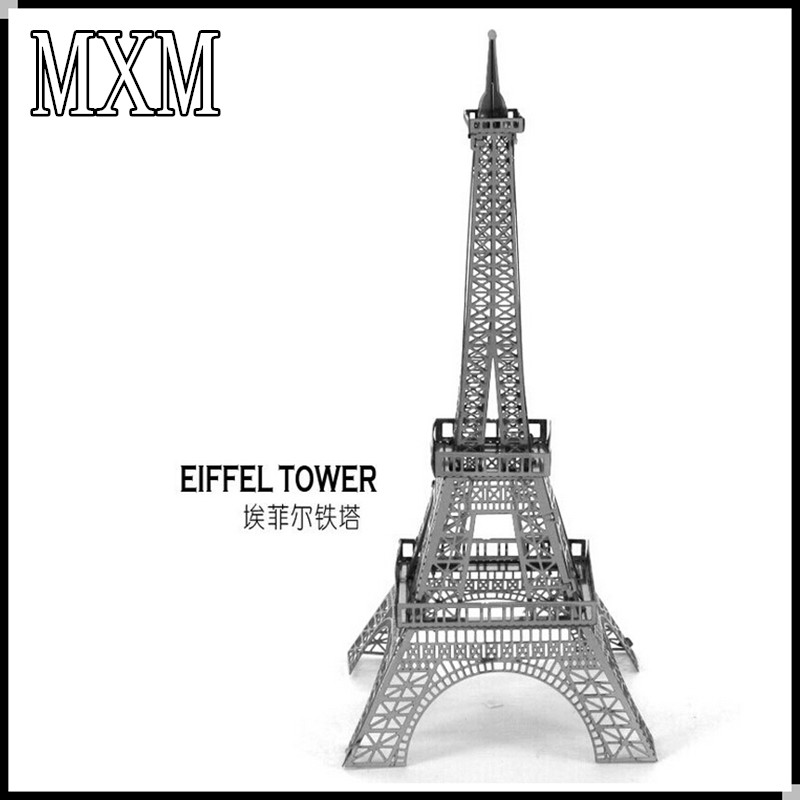 3D Puzzle Metal Earth 3D Laser Cut Model 3D Jigsaws DIY Gift Eiffel Tower Helicopter Tower of Pisa Wing Fighter Toys Wholesale(China (Mainland))