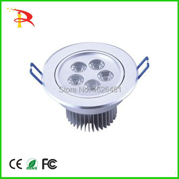 buy online china led spot light of led recessed housing light ce rohs led downlight housing 5W energy saving(China (Mainland))