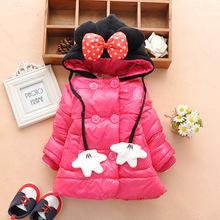 2014 baby girl winter down coat Children s Coats and Jackets Baby children winter outerwear Kids