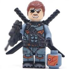 100Pcs  Building Block Super Heroes Avengers Deathstrock MiniFigures Bricks Mini Figure Compatible with lego(China (Mainland))