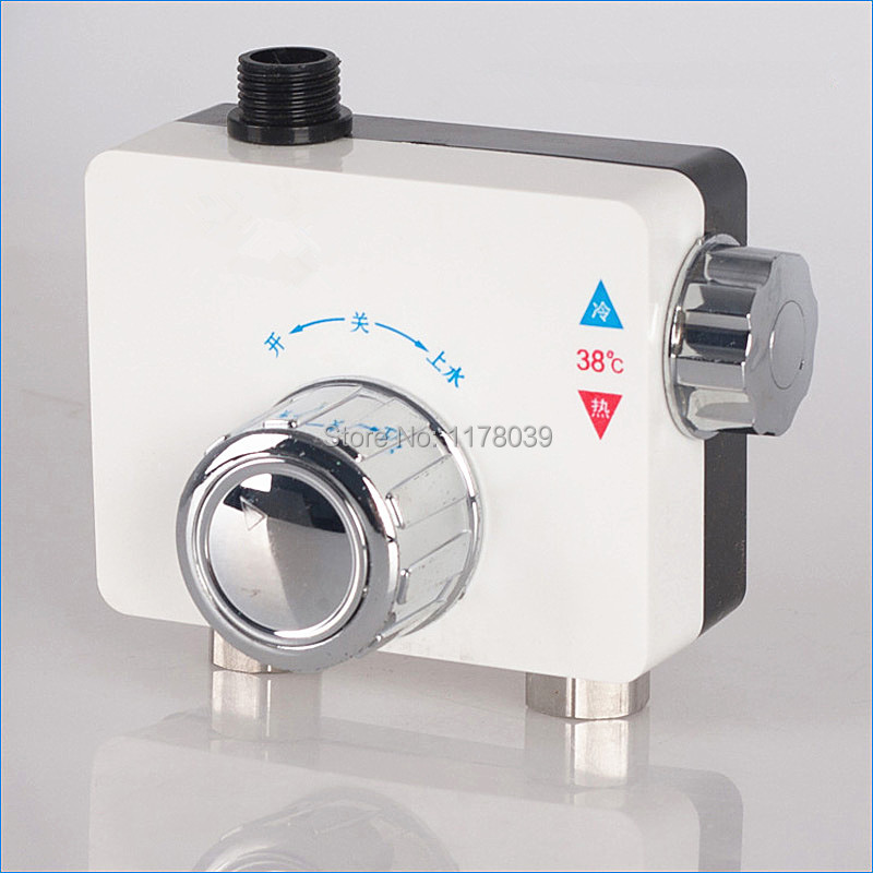 Solar Thermostatic mixing valve,Intelligent Shower thermostat valve,bathroom Hot and cold mixing valve,Free Shipping J15635(China (Mainland))