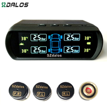 2017 Latest Solar TPMS newest technology Car Tire Diagnostic-tool with mini external sensor superior quality Wireless TPMS(China (Mainland))