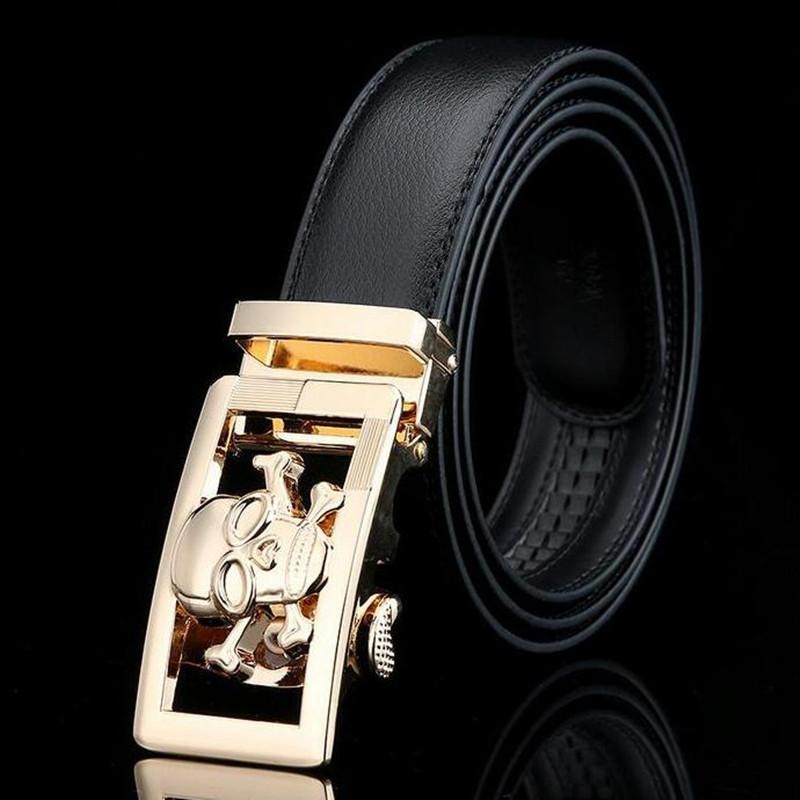 Belt brand FL 13 colors can choose automatic belt buckle designer men belt high quality genuine leather fashion belts for men(China (Mainland))
