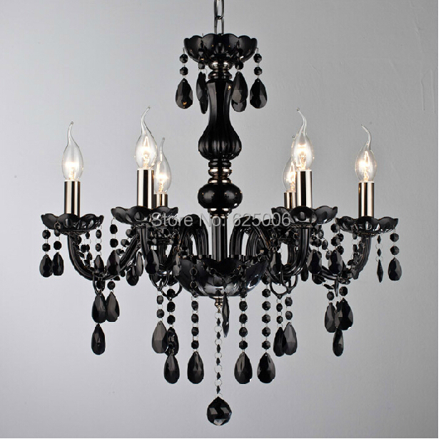 buy modern black crystal chandelier