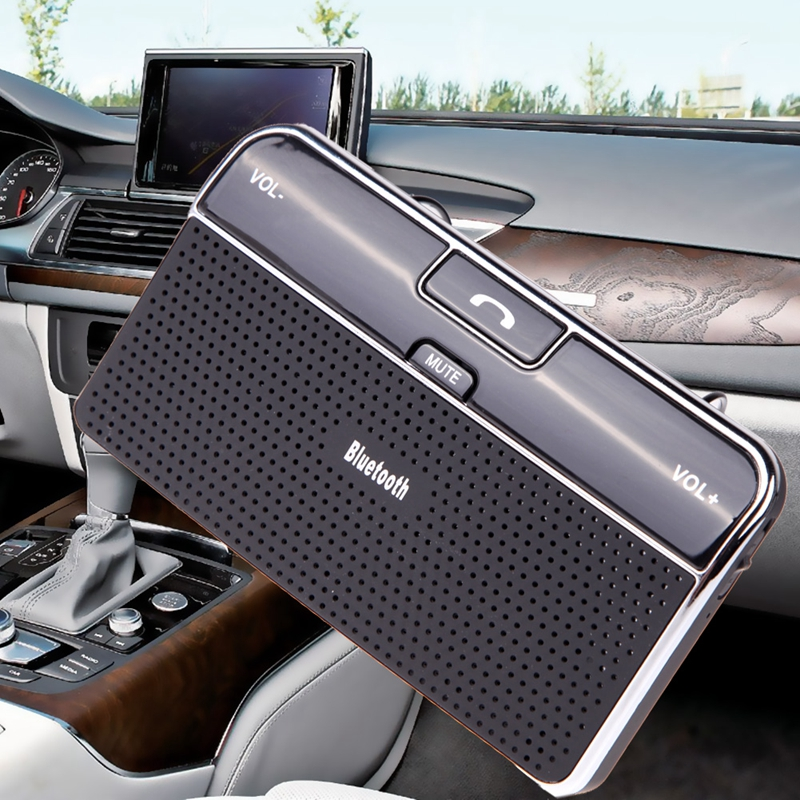 New Arrival Car Bluetooth Hands-Free Car Kit Bluetooth Speaker In-car Speakerphone Free Shipping(China (Mainland))