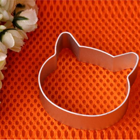 Specialized Metal Alloy Cat Head Shaped Fondant Cookie Cake Sugarcraft Plunger Cutter(China (Mainland))