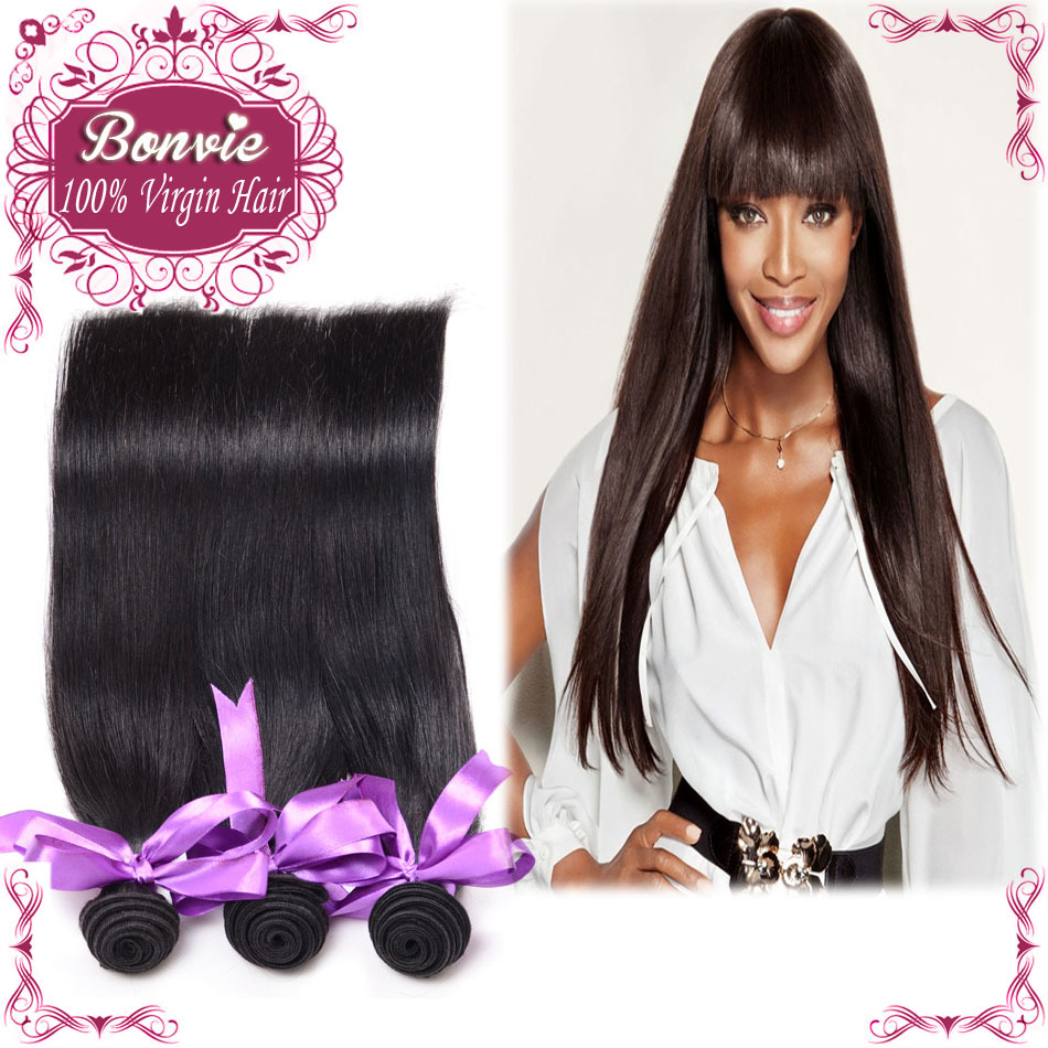 Virgin indian human hair straight 4pc/lot 6a top quality, tangle&shedding free Jolia hair products wholesale hair extensions(China (Mainland))