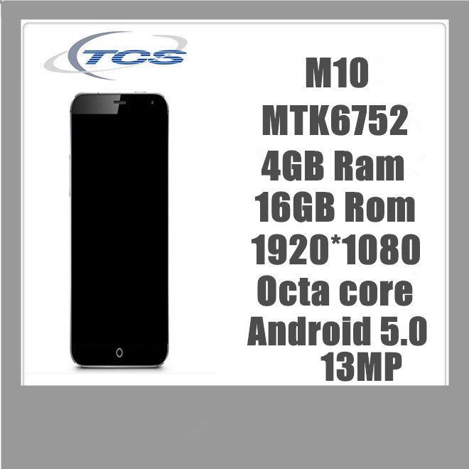 New Original MTK6752 Phone 4GB Ram 16GB Rom Octa core 13MP Camera Android FHD Smart Phone Mobile Phone(China (Mainland))