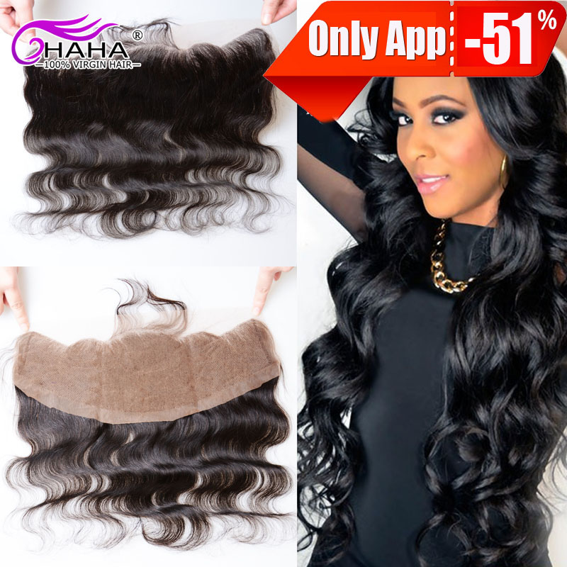 Ms lula hair brazilian virgin hair body wave lace frontal closure pieces cheap lace frontal closures 13*4 with free shipping  <br><br>Aliexpress