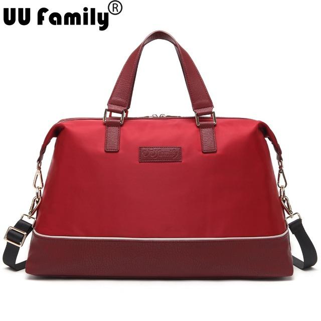 Uu семья 2016 весной путешествия женщины багаж дорожные сумки сумку дамы Organizadores ...