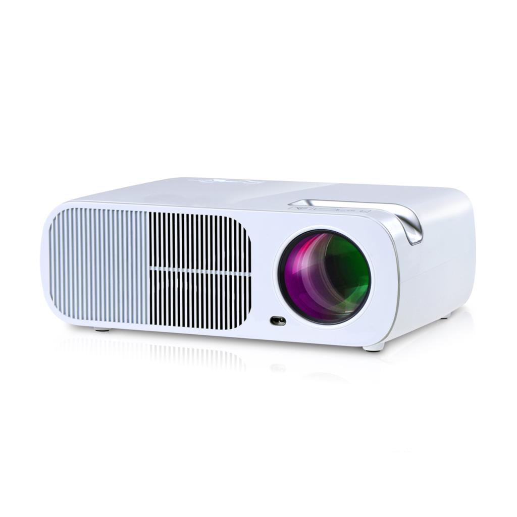 New hd 2600lux multimedia 3d led mini home theater lcd for Small lcd projector reviews
