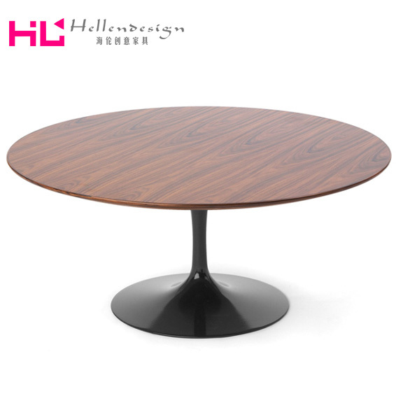 Tulip Tulip side table solid wood dining table marble dining table minimalist coffee table(China (Mainland))
