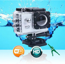 WIFI 1080P  Full HD Sports DV  Out Door Necessity Water Proof Car and Bicycle DV Camera Recorder(China (Mainland))