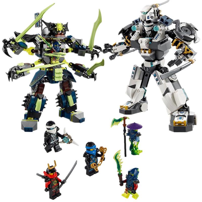 Bela 10399 Phantom LEPIN LEPIN Titan Mech Battle Model Building Kit Blocks Set LEPIN Bricks toys for Children(China (Mainland))
