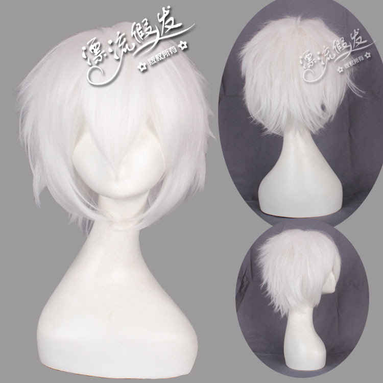 Гаджет  Cosplay wig pure white against become warped COS Sakaguchi Tian Yinshi/APH Prussia  None Изготовление под заказ