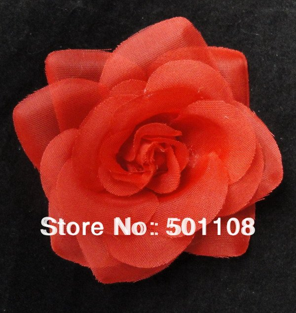 Wholsale 3.5''icy rose flower heads Christmas pretty flowers  hot sale rose flower 240pcs/lot