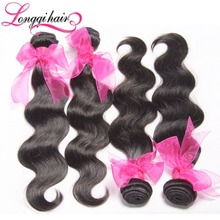 4 Bundles Lot Malaysian Body Wave Unprocessed Virgin Malaysian Hair Extensions Discount Malaysian Hair Bundle Deals(China (Mainland))