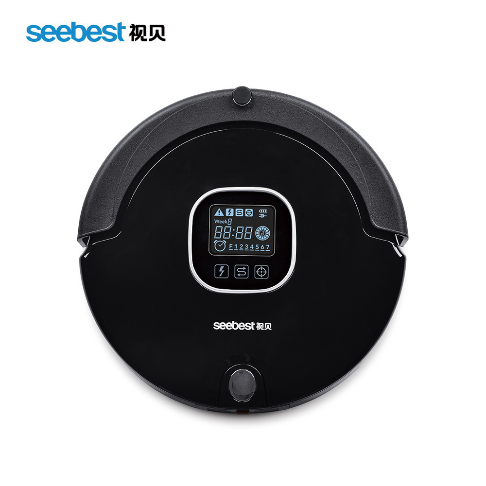 (Free to US)Seebest C565 Factory Sell Best Robot Vacuum Cleaner with automatic recharger and remote controller(China (Mainland))