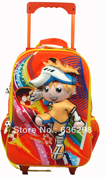 3d pattern child football trolley bag primary school student eva travel - Tourmate Outdoors CO;LTD store