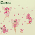 Hot Style Popular Foreign Trade Wall Stickers Elven Fairy Of Children Room Decorate Wall Stick PVC