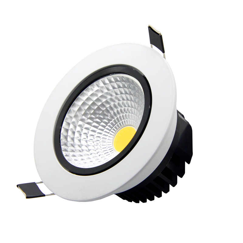 Brightest Recessed Lighting Bulbs : Super bright recessed led cob downlight w