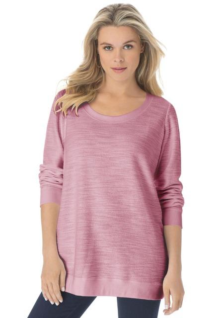 S-10XL Novelty Plus Размер Женщины Texture Terry Sweatshirt Pullovers Big Large Размер ...