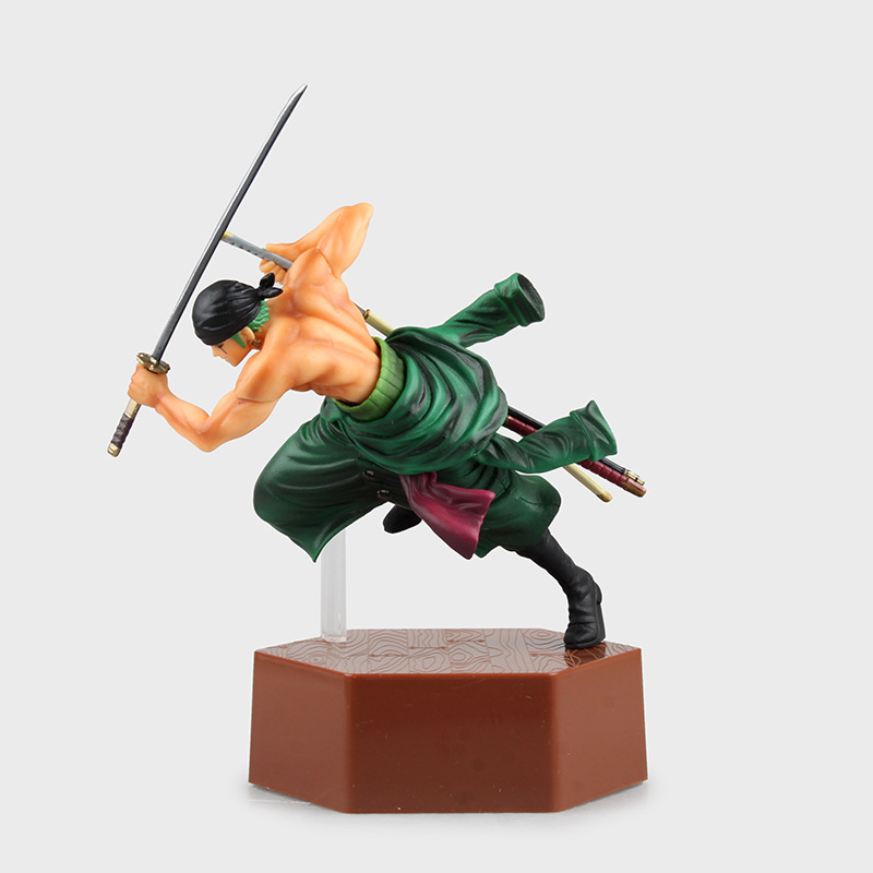 Hot-selling 1pcs 20cm pvc Japanese anime figure one piece Roronoa Zoro/Sanji action figure collectible model toys brinquedos(China (Mainland))