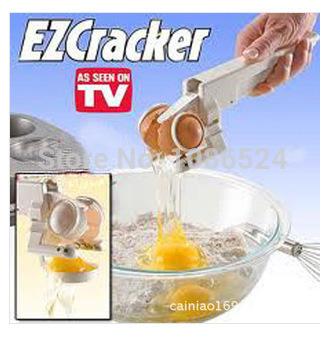 Free Shipping 48Pcs\Lot EZCracker Crack, Peel & Separate Eggs Perfectly Handheld Egg Cracker/egg ez cracker/easy cracker JA26(China (Mainland))