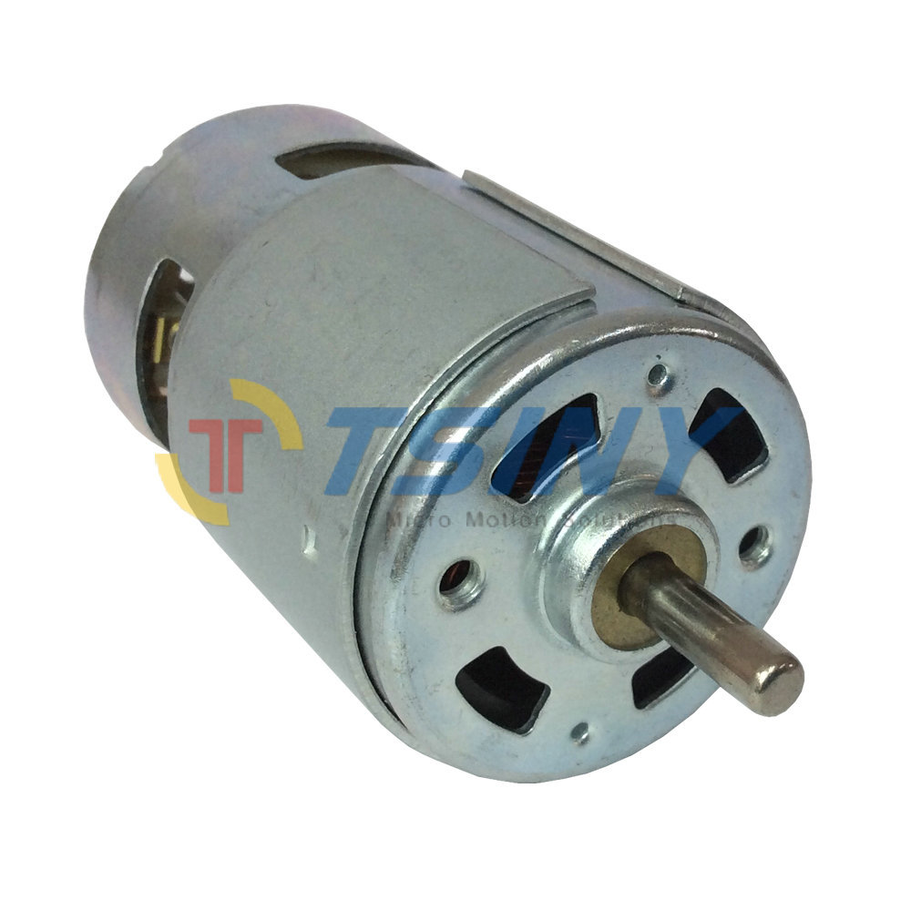 775 12v Dc 5500rpm Brush Motor Micro Carbon Brush Motor