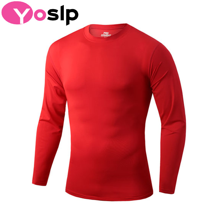 New! Tight-fitting elastic Men's Pro sport fitness bodybuilding T shirts compression shirt extended t-shirt casual T shirt(China (Mainland))