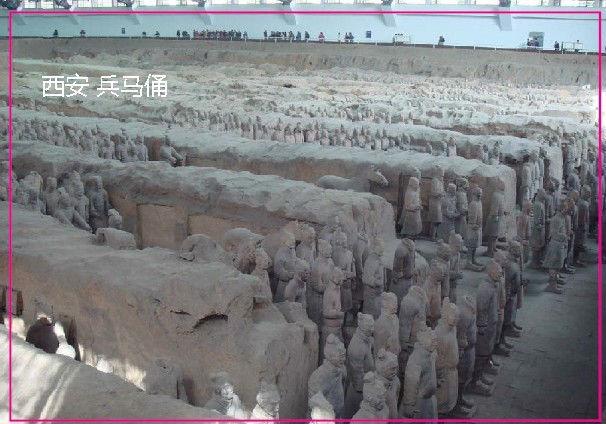 Over $12,Chinese Sence world heritage Xi'An the Terra-cotta Warriors and Horses Tourist Metal Fridge Magnet SFM555(China (Mainland))