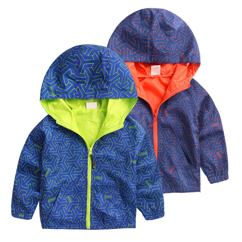 Kids Toddler Boys Jacket Coat Hooded Jackets For Children Outerwear Clothing Minnie Spring Baby Boy Clothes Windbreaker Blazer(China (Mainland))