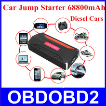 High Quality 68800mAh Car Jump Starter Multi-Function Power Bank For Car Star Engine Mobile Emergency Power Bank Rechargeable(China (Mainland))