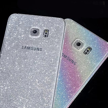 50pcs/Lot Luxury Bling Full Body Glitter Sticker for Samsung Galaxy S3/S4/S5/S6/S6 Edge /S7 Edge Note3 Note4 /Note 5 A5 A9 A5100(China (Mainland))