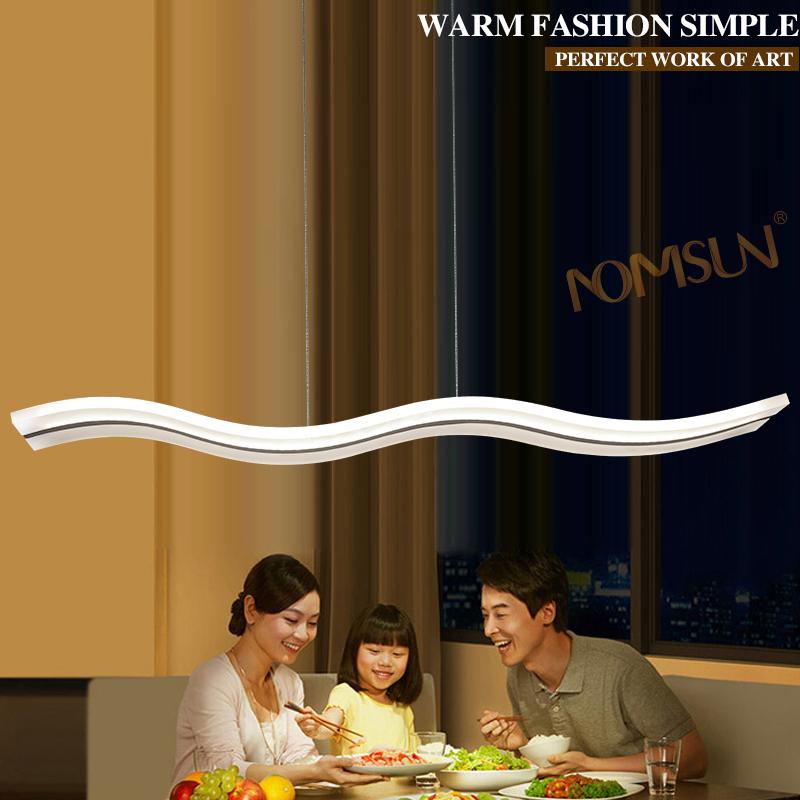 modern led pendant light for restaurant dining room hotel kitchen pendant lights fixture lamp acrylic light living room lighting(China (Mainland))