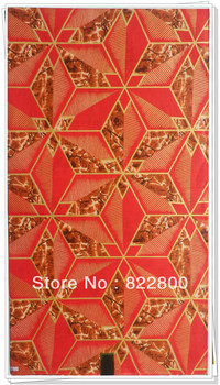 Free Shipping, New design 100% cotton african Woodin wax print,,6yards/piece,african wax print fabric design W407