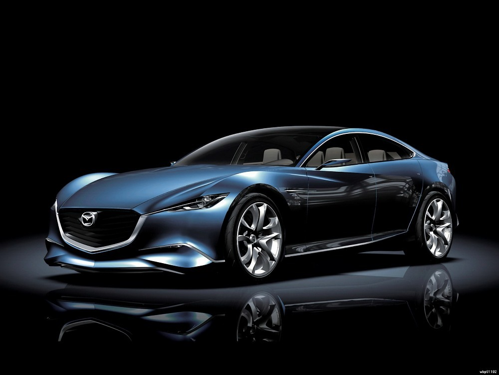 "MAZDA Future Concept Car 32""x24"" Art Posters wbp01102(China (Mainland))"