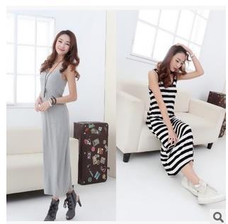 product  Milk Silk Dress 2015 New Cotton Summer Casual  Vestidos Longos Oversized  Informal Wear Robe Longue Femme  Milk Silk Dress